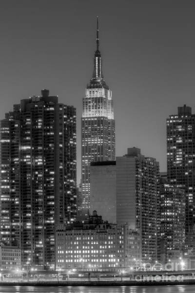 Photograph - Empire State Building At Twilight II by Clarence Holmes