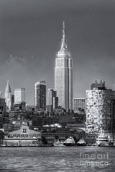 Photograph - Empire State Building Post Thunderstorm II by Clarence Holmes