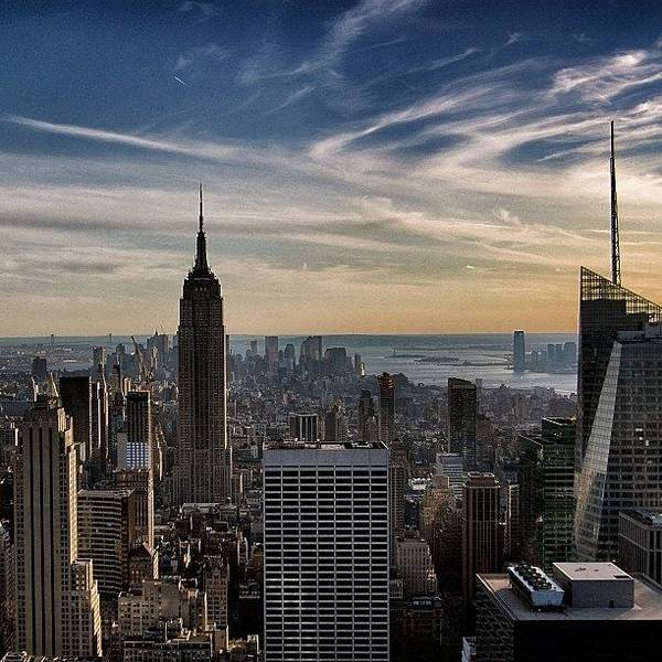 Skyscraper Photograph - Empire State Of Mind - New York by Joel Lopez