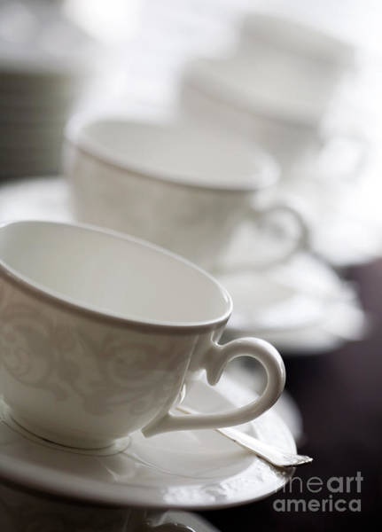 Wall Art - Photograph - Empty Cups by Kati Finell