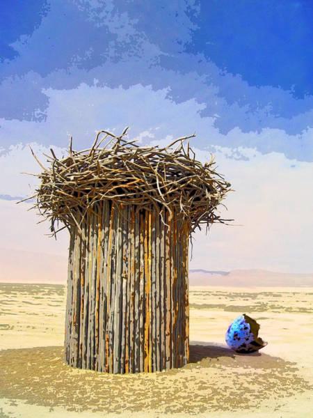 Empty Nest Wall Art - Mixed Media - Empty Nest by Dominic Piperata