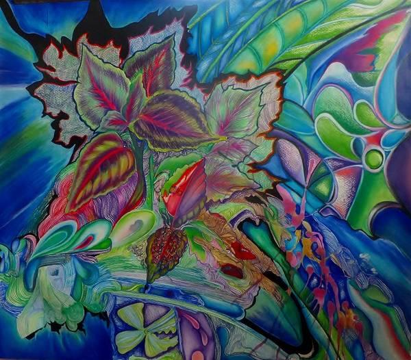 Trinidad Drawing - En Plein Air First Experience by Sarah Burrows