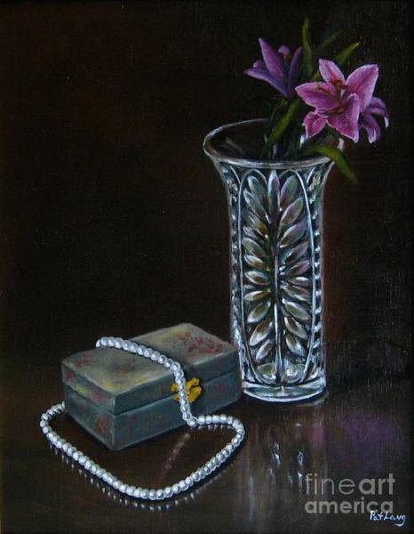 Wall Art - Painting - End Of The Night by Patricia Lang