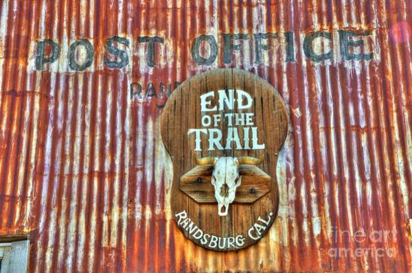 End Of The Trail Photograph - End Of The Trail by Bob Christopher