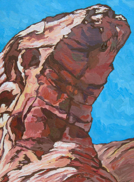 Box Canyon Wall Art - Painting - End Of The Trail by Sandy Tracey