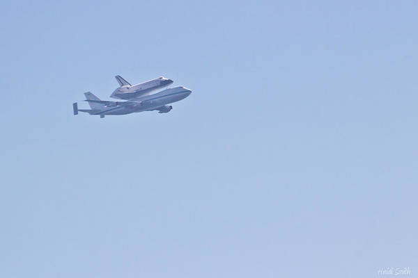 Flyby Photograph - Endeavour Flyover by Heidi Smith