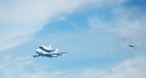 Photograph - Endeavour's Last Flight by Diana Haronis