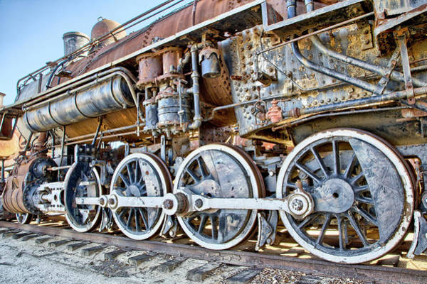 Photograph - Engine by Peter Dyke