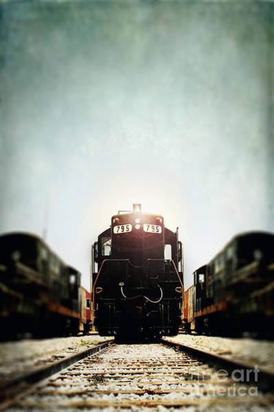 Transportation Wall Art - Photograph - Engine795 by Stephanie Frey