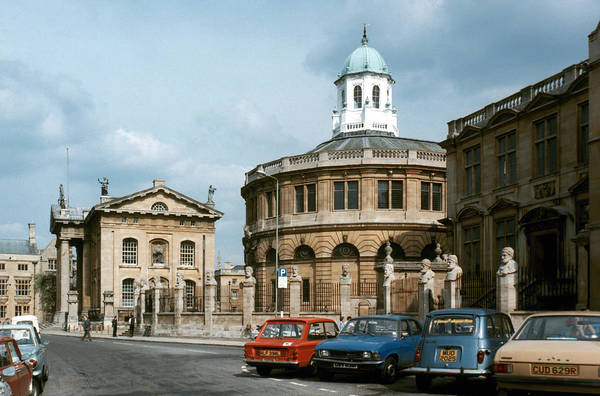 Photograph - England: Oxford University by Granger