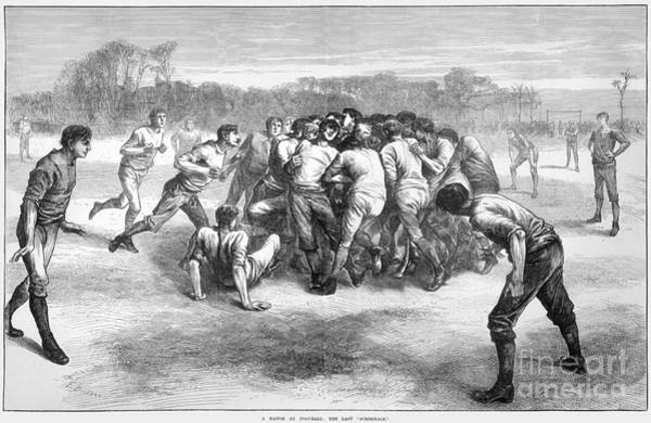 Photograph - England: Rugby (1871) by Granger