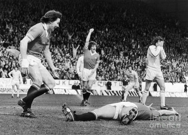 Manchester United Fc Wall Art - Photograph - England: Soccer Game, 1977 by Granger