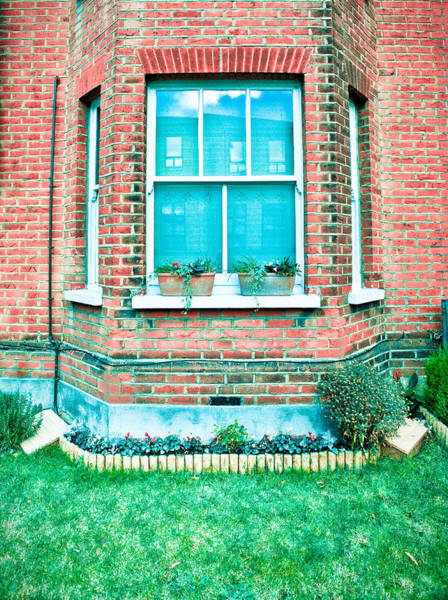 Window Photograph - English House by Tom Gowanlock
