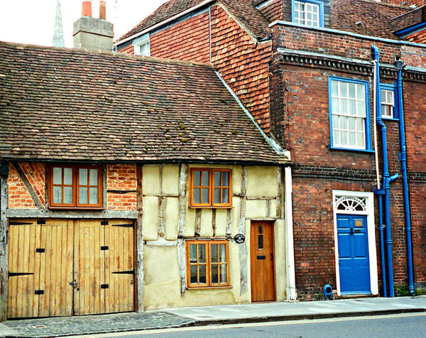 Photograph - English Village by Marilyn Wilson
