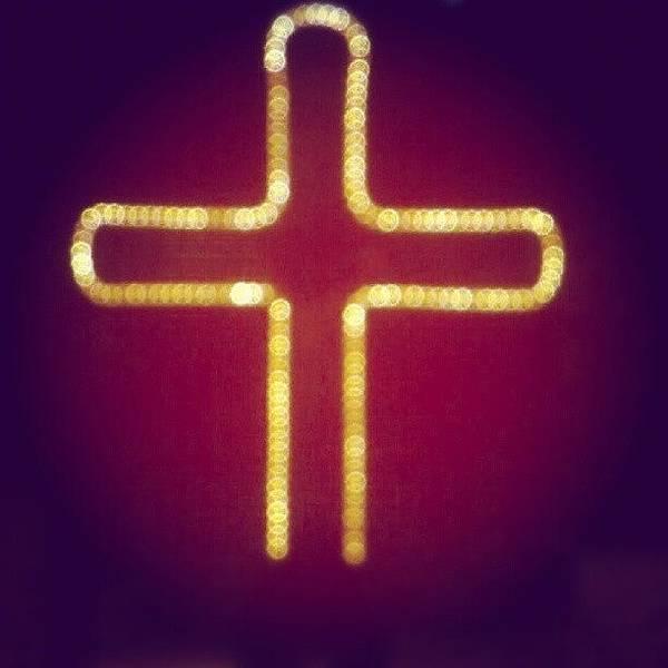 Wall Art - Photograph - Enlightening Cross by Parth Patel