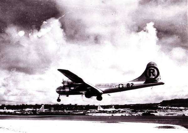 Army Air Corps Photograph - Enola Gay- Boeing B-29 Superfortress by Everett