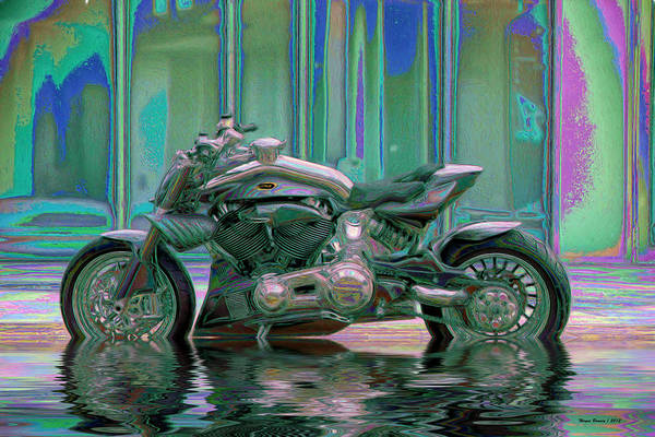 Purple Rain Digital Art - Enough Rain Already by Wayne Bonney