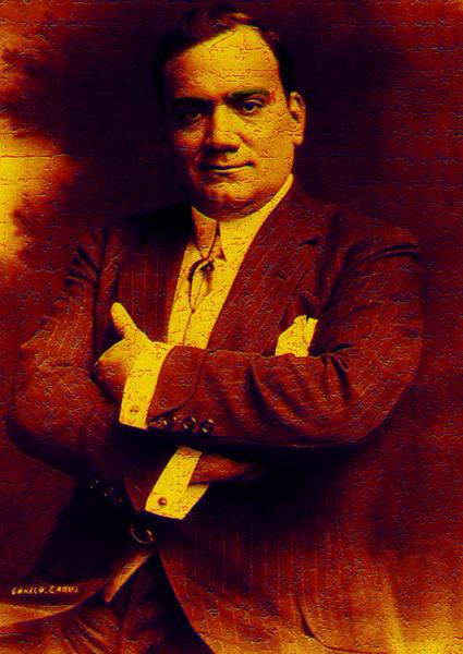 Photograph - Enrico Caruso by Andrew Fare