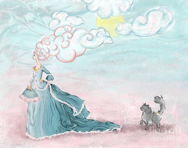 Enter Lady Spring Art Print