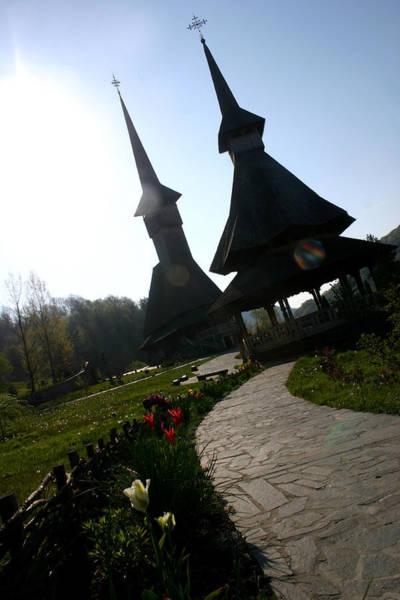 Photograph - Entrance At Barsana Monastery by Emanuel Tanjala