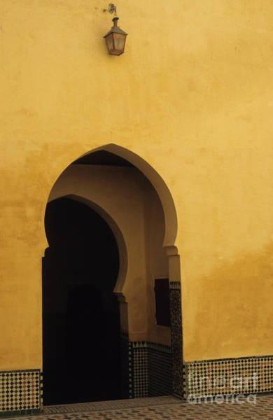 Wall Art - Photograph - Entrance Door In Morocco by Sami Sarkis