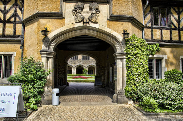 Garten Wall Art - Photograph - Entrance To Cecilienhof Palace by Jon Berghoff