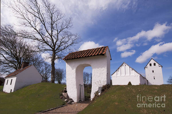 Wall Art - Photograph - Entrance To The Church by Wedigo Ferchland
