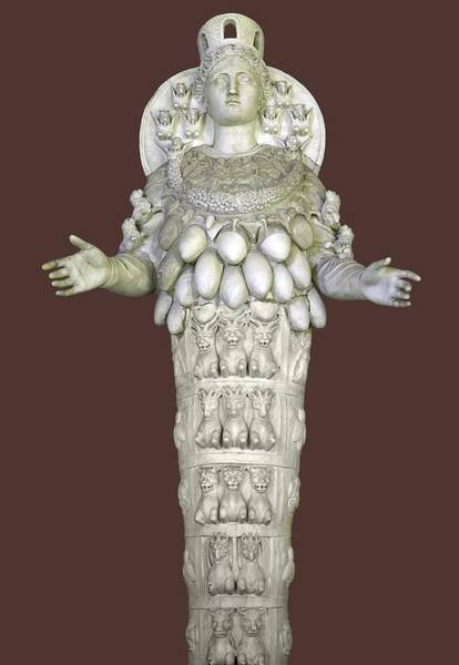 Artemis Photograph - Ephesian Statue Of Artemis by Sheila Terry