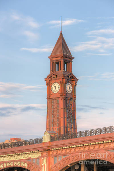 Photograph - Erie Lackawanna Terminal Clock Tower by Clarence Holmes