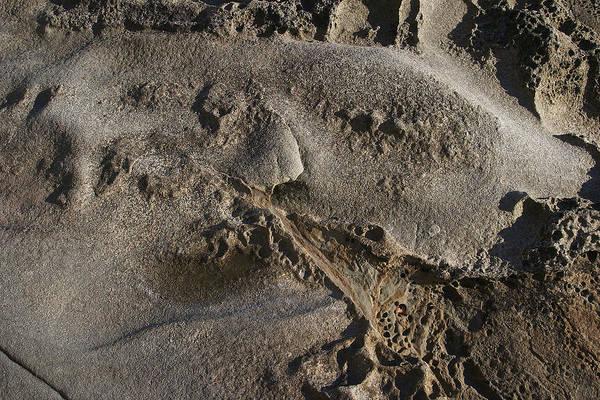 Photograph - Eroded Rock Direct Light by David Kleinsasser