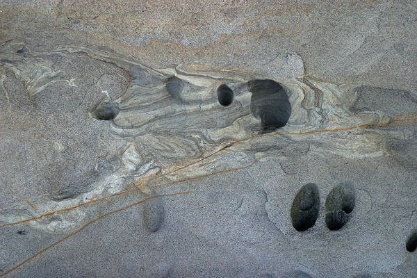 Photograph - Eroded Rock Formation 3 by David Kleinsasser