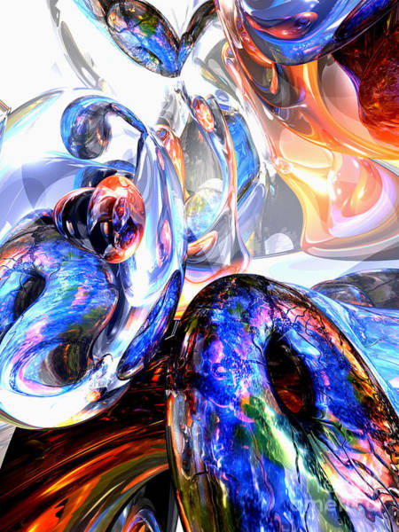 Essence Digital Art - Essence Of Inspiration Abstract by Alexander Butler