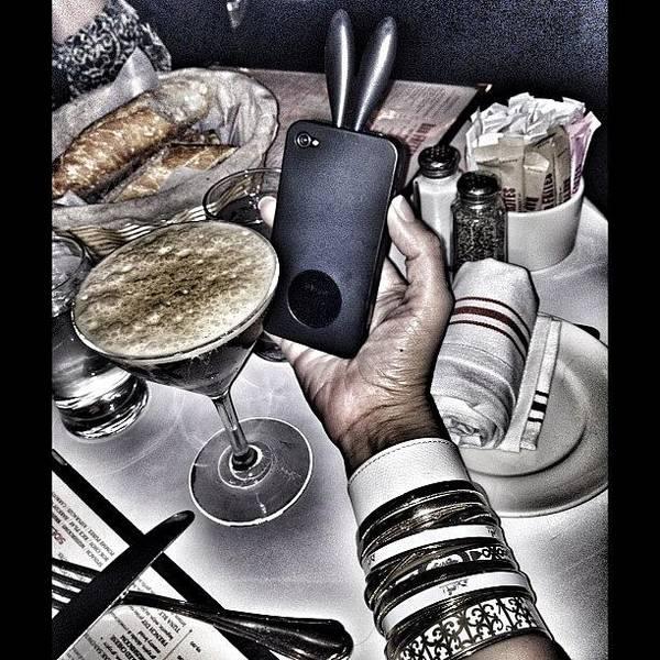 Martini Wall Art - Photograph - Essssspresso Martini...bunnny Ear by PhotoFashion ObsessedNYC