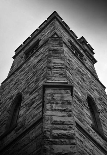 Photograph - Ethereal View - First Presbyterian Church Of Salt Lake City by Steven Milner