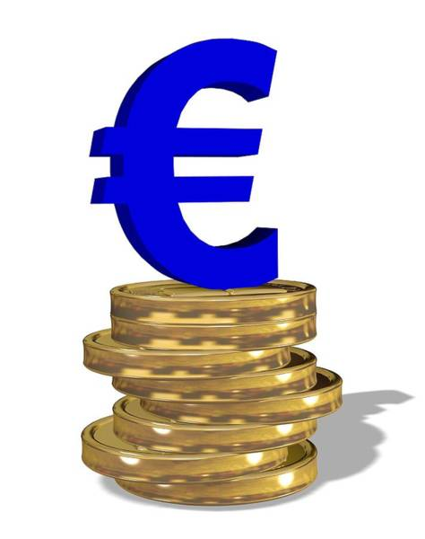 Legal Tender Photograph - European Single Currency by Friedrich Saurer