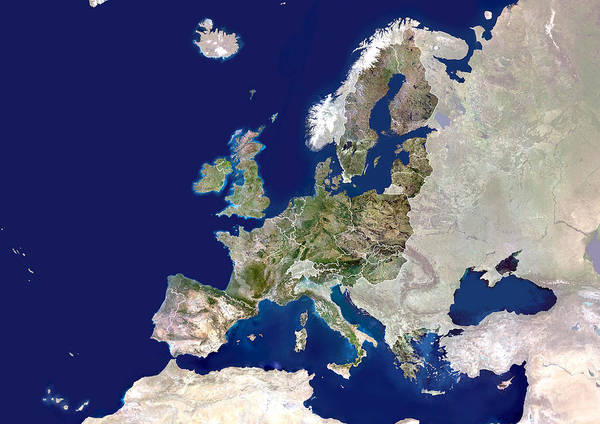 Membership Photograph - European Union by Planetobserver