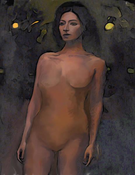 Wall Art - Mixed Media - Eve by Noredin Morgan