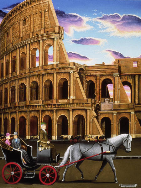 Painting - Evening In Rome by Tracy Dennison