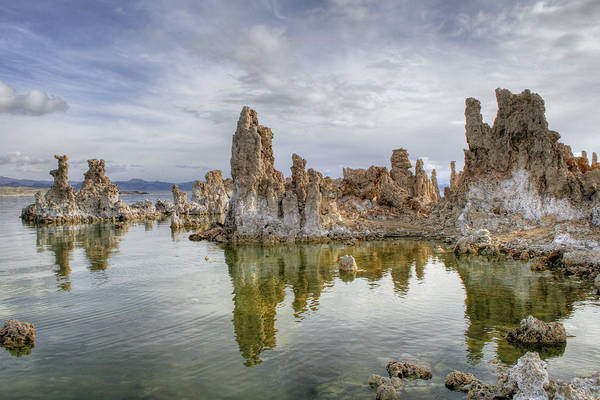 Photograph - Evening Light At Mono Lake by Wes and Dotty Weber