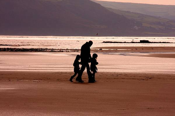 Barmouth Photograph - Evening Stroll by Ed Lukas