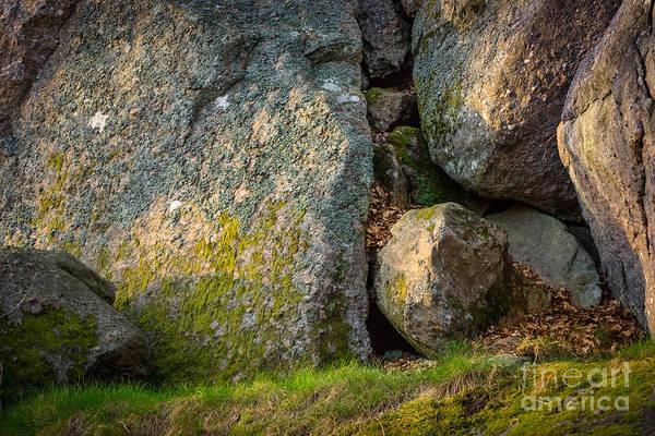 Photograph - Evening Sun Rocks by Lutz Baar