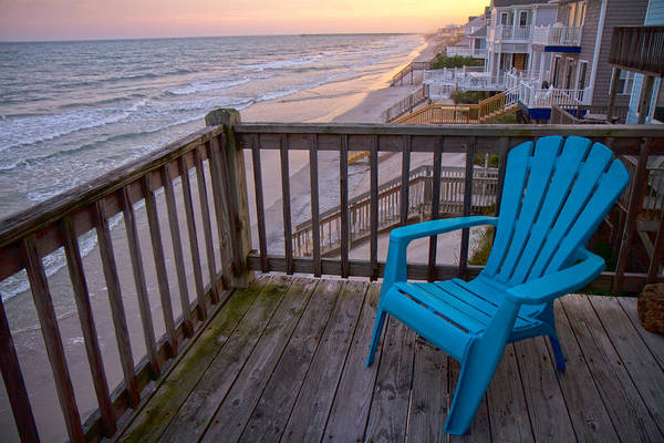 Oceanfront Photograph - Evening Thoughts by Betsy Knapp