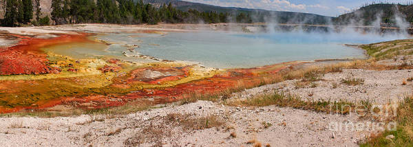 Photograph - Excelsior Geyser Crater by Charles Kozierok