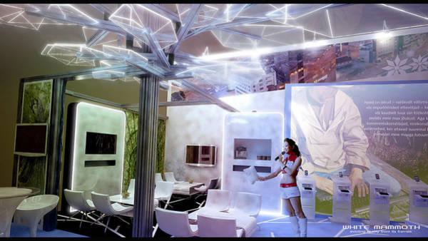 Stereoscopy Digital Art - Exhibition Box by White Mammoth
