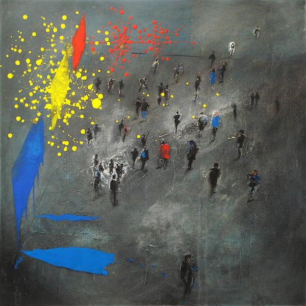 Destructive Painting - Exhibitionist Paintings by Neil McBride