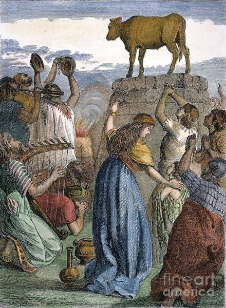 Hebrews Photograph - Exodus: Golden Calf by Granger