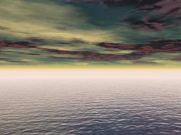 Expanse Photograph - Expanse Of Water And Sky by Paul Sale Vern Hoffman