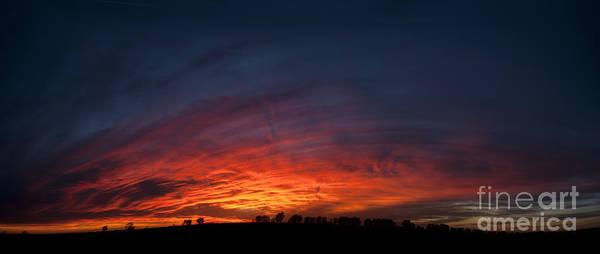 Expansive Sunset Art Print
