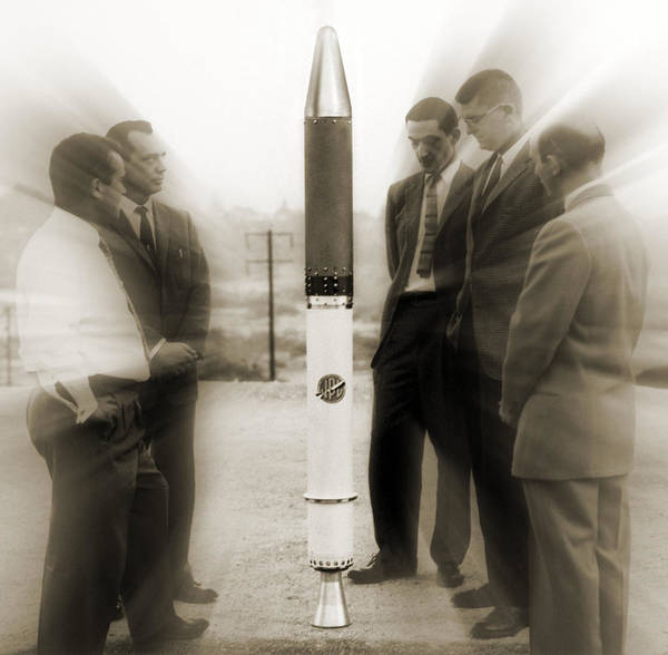 Jet Propulsion Laboratory Photograph - Explorer 1 by Detlev Van Ravenswaay