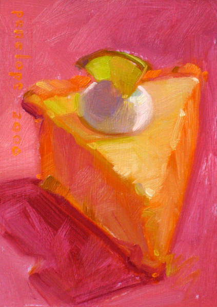 Whipped Cream Painting - Extra Sweet by Penelope Moore